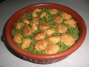 Mandonguilles de bacallà a la catalana