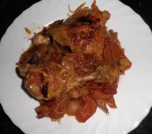 Cuixa de pollastre de pagès rostida